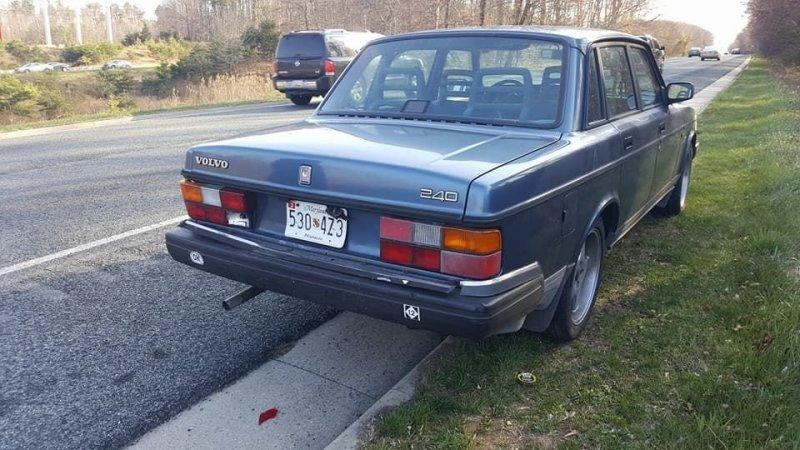 Volvo 80-х годов против современной Kia: последствия столкновения kia, volvo, авто, автомобили, дтп, надежность, прикол, прочность