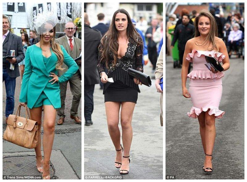 И обратите еще раз внимание на наряды! Эйнтри, великобритания, дамы, девушки, женщины, наряды, праздник, скачки