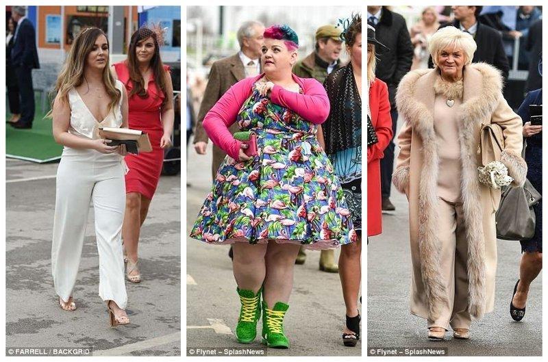 Сногсшибательные наряды женщин Эйнтри, великобритания, дамы, девушки, женщины, наряды, праздник, скачки