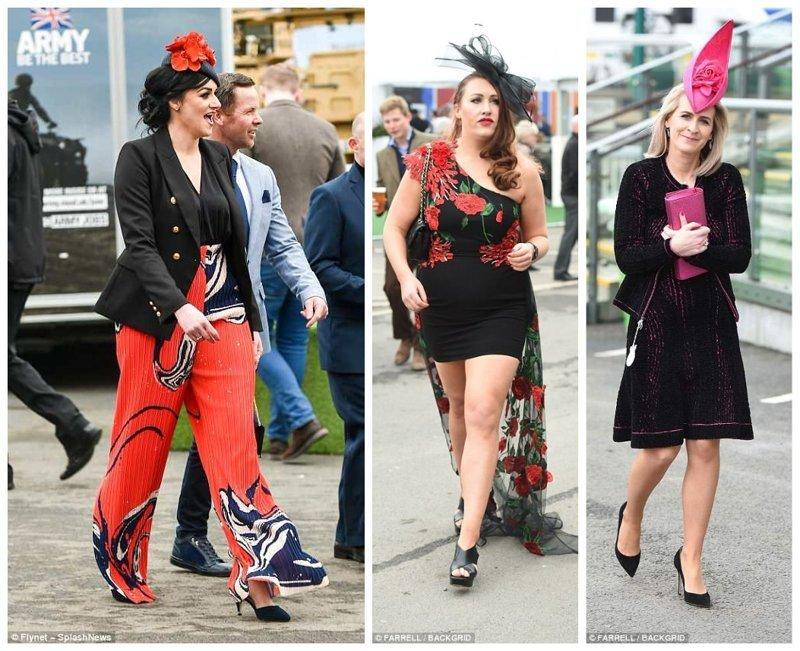 Продолжаем показ мод Эйнтри, великобритания, дамы, девушки, женщины, наряды, праздник, скачки