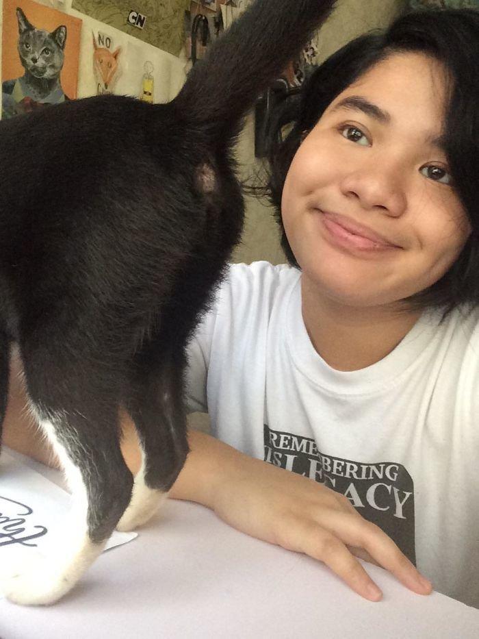 """22. """"Я просто хочу сделать селфи со своей кошкой!"""" коты, коты - криминалы, кошаки, кошачести, кошки, приколы, проказы, хулиганы"""