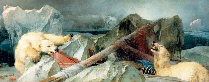 """4. """"Человек предполагает, а Бог располагает"""", Эдвин Лендсир жутко, интересное, искусство, истории, картины, мистика, проклятие, художники"""