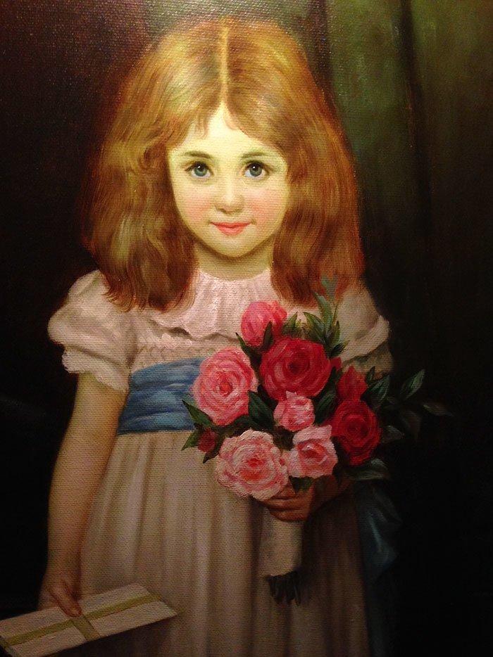 """5. Реплика картины """"Любовные письма"""", Ричард Кинг жутко, интересное, искусство, истории, картины, мистика, проклятие, художники"""