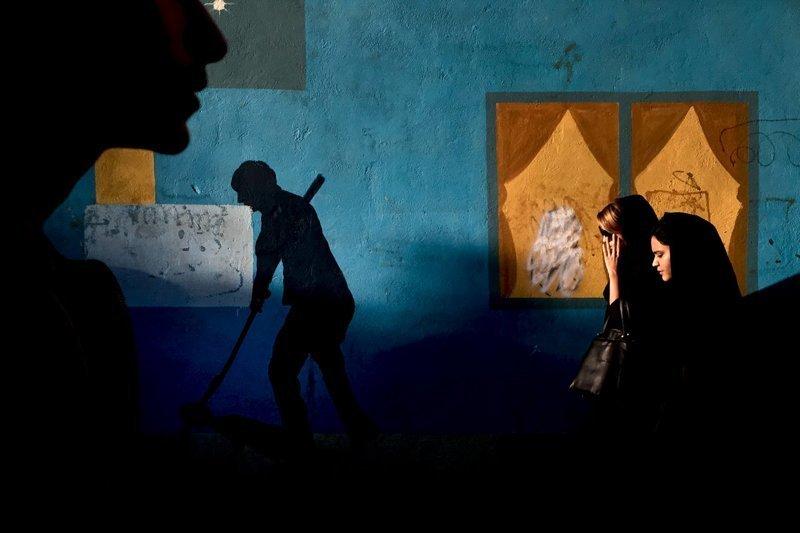 """Женщины, Иран. Фотограф Мохаммад Мохсенифар, победитель в категории """"мобильные снимки"""" красота, лучшие фото, лучшие фотографии, победители, победители конкурса, фотография, фотоконкурс, фотоконкурсы"""
