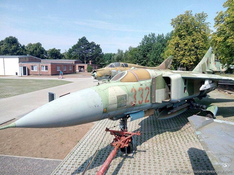 Авиационно-технический музей в Рехлине (ФРГ) путешествия, факты, фото
