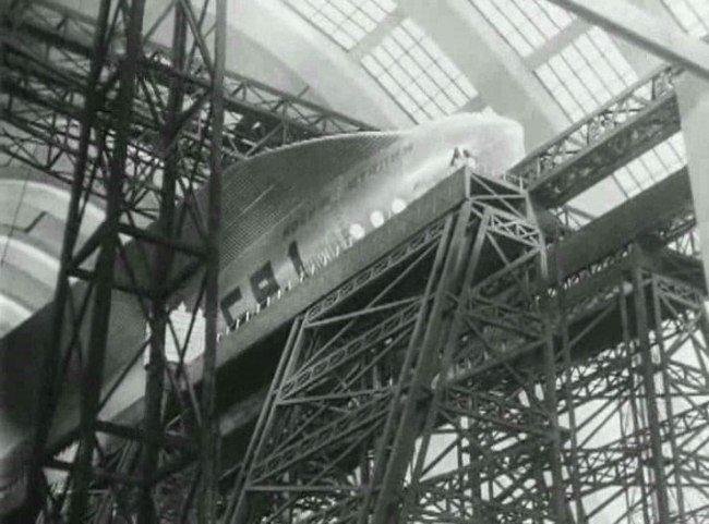«Космический рейс» (1935) СССР, история, кино