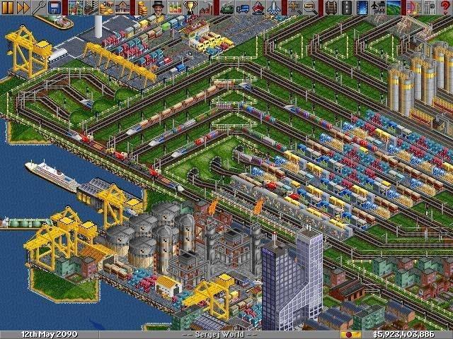Transport Tycoon Deluxe апгрейд, детство, игра, ностальгия