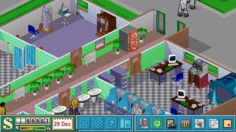 Hospital апгрейд, детство, игра, ностальгия