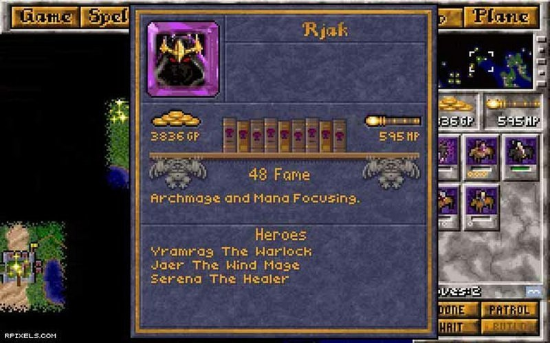 Master of magic апгрейд, детство, игра, ностальгия