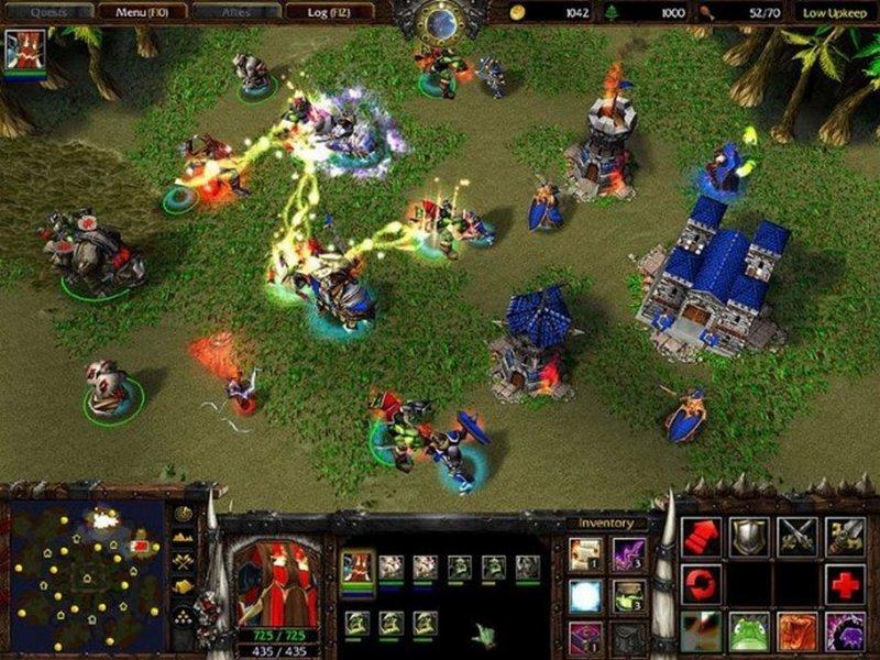 Warcraft 3 Frozen Throne апгрейд, детство, игра, ностальгия