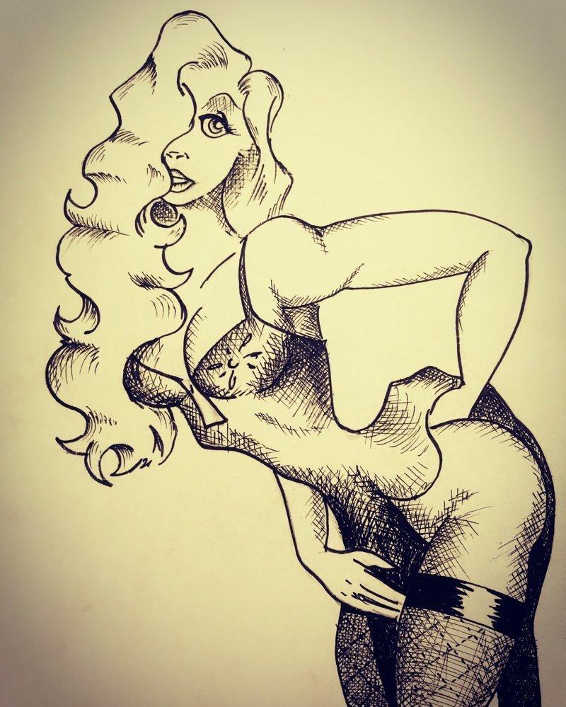 А дальше понеслась... любовь к женскому полу! ? #девушки, #рисования красота, #рисунки