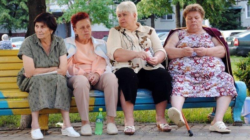 И после этого вы говорите, что пожилых нужно уважать? бабки, истории, люди, слухи, уважение