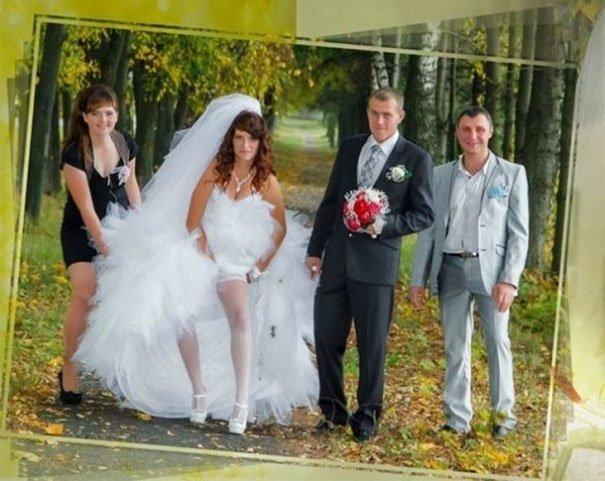 Лучший снимок в фотосессии всегда выглядит как-то так жених, невеста, прикол, россия, свадьба, юмор