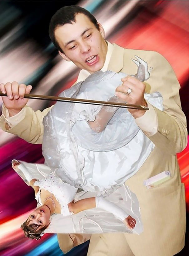 Легкая наркомания — куда же без нее? жених, невеста, прикол, россия, свадьба, юмор