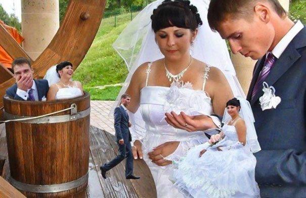 Непременный вырвиглазный фотошоп жених, невеста, прикол, россия, свадьба, юмор