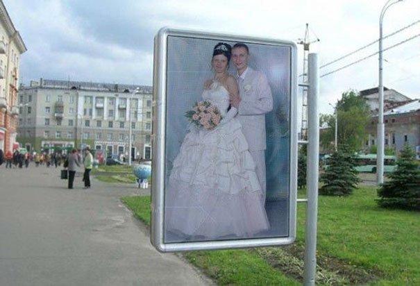 И весь город обязан знать! жених, невеста, прикол, россия, свадьба, юмор