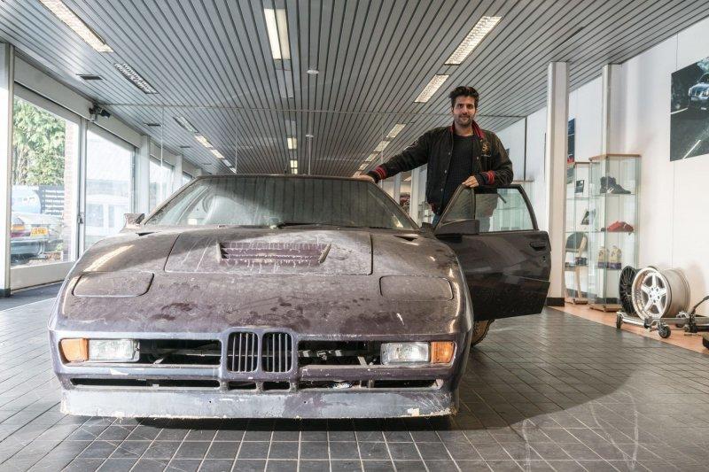 Теперь сын коллекционера планирует восстановить единственный оставшийся суперкар BMW с ГБО. bmw, ГБО, авто, автомобили, спорткар, суперкар