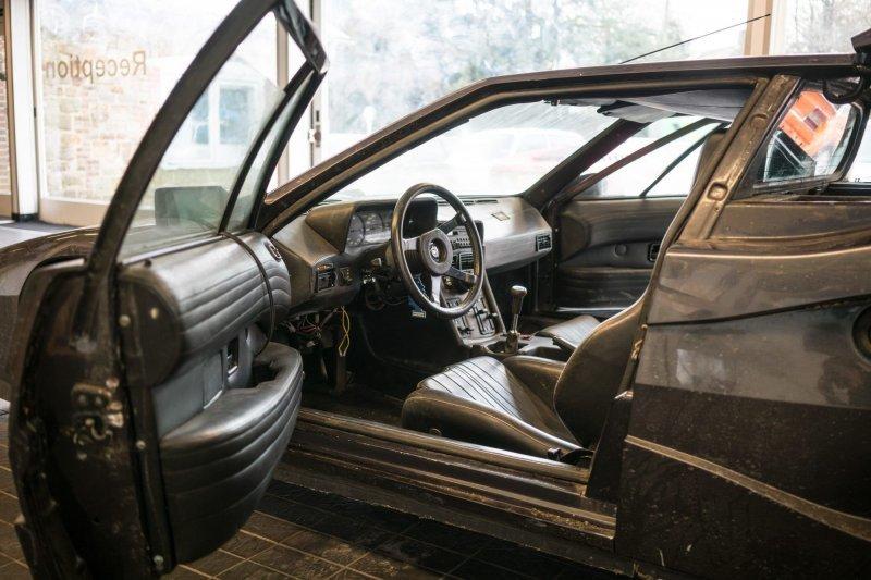 Турбированный BMW M1 работающий на газе из 80-х bmw, ГБО, авто, автомобили, спорткар, суперкар