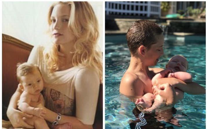 Кейт Хадсон звезды, знаменитости, мама, материнство, ребенок, фото, юность