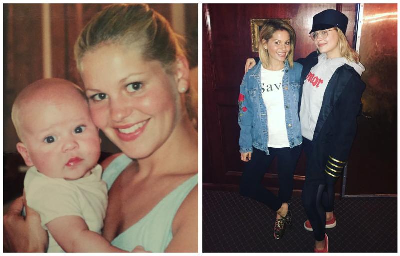 Кэндис Кэмерон-Буре звезды, знаменитости, мама, материнство, ребенок, фото, юность