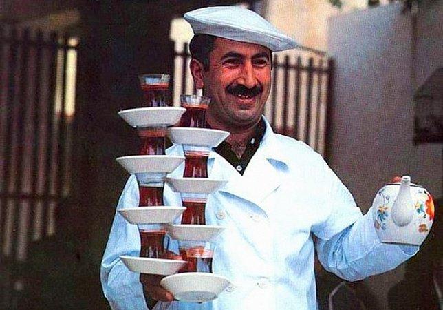 Разносчик чая, Турция занятия, необычные специальности, профессии, факты, это интересно