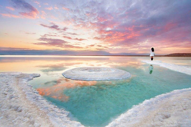 Эта красота - Мертвое море, самая низкая точка на Земле �зраиль, красиво, красивые места, природа, страны, страны мира, фото, фотограф