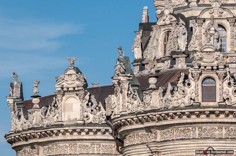 1) Церковь Рождества Богородицы в усадьбе Подмоклово. путешествия, факты, фото