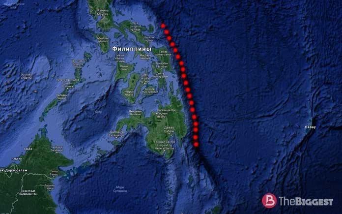 Филиппинский жёлоб батискаф, впадины, загадки, земля, интересное, океан, факты