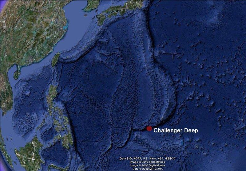 Марианская впадина батискаф, впадины, загадки, земля, интересное, океан, факты