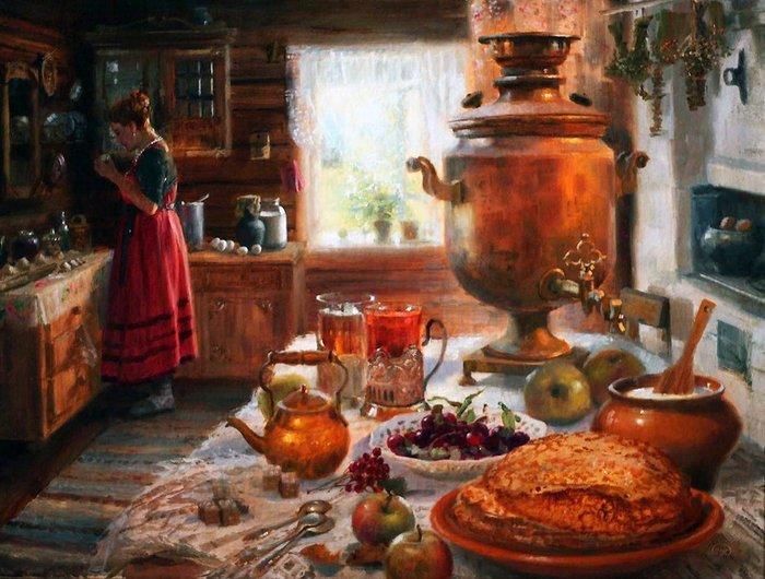 Почему на Руси женщинам не разрешалось готовить Русы, женщины, запреты, пища, факты
