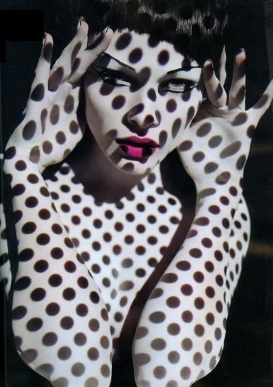 Точечки девушки, искусство, красота, тень, фотографии