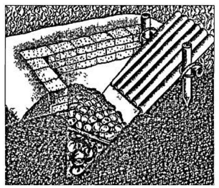 «Земляная» пушка (камнеметный фугас). XVII век артиллерия, военное, интересное, история, необычное, пушки