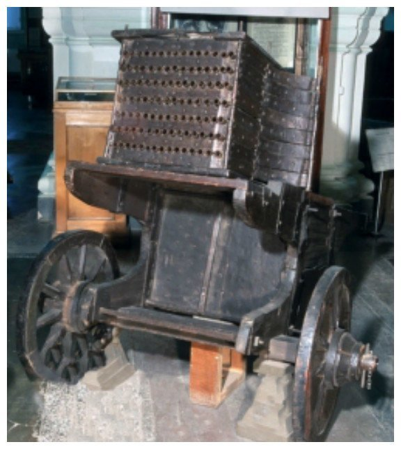 105-ствольная скорострельная батарейка. Изготовлена в России в конце XVII в. артиллерия, военное, интересное, история, необычное, пушки