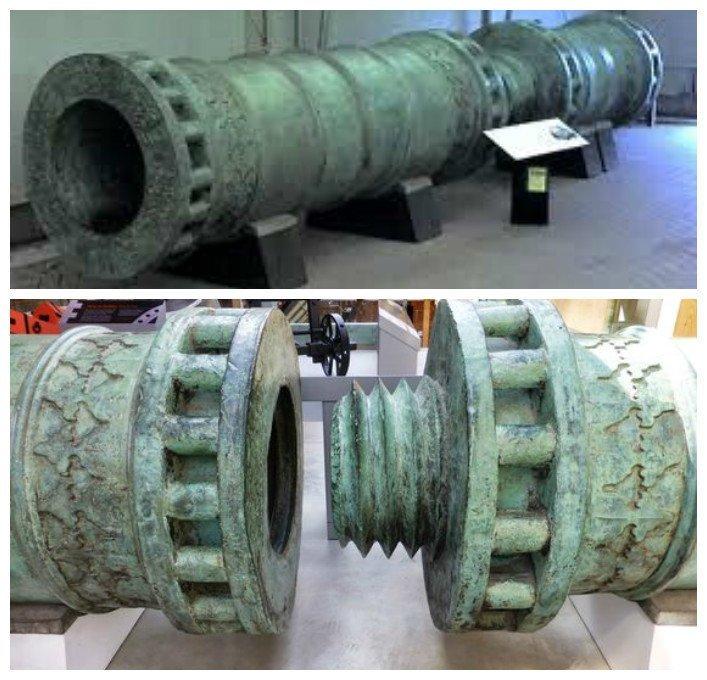 И еще любопытные пушки. Дарданелльская пушка артиллерия, военное, интересное, история, необычное, пушки