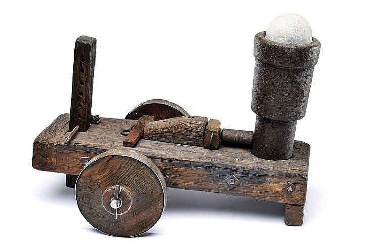 Старый пушечный миномет - бомбарда. Испанская эпоха конкистадоров - XV - XVI вв. артиллерия, военное, интересное, история, необычное, пушки