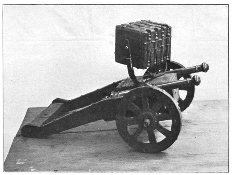 Комбинированная установка 2+16 стволов артиллерия, военное, интересное, история, необычное, пушки