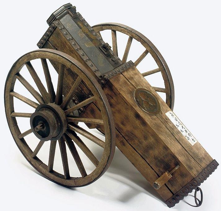 Пушка периода Эдо (XIX в.). Железо, дерево артиллерия, военное, интересное, история, необычное, пушки