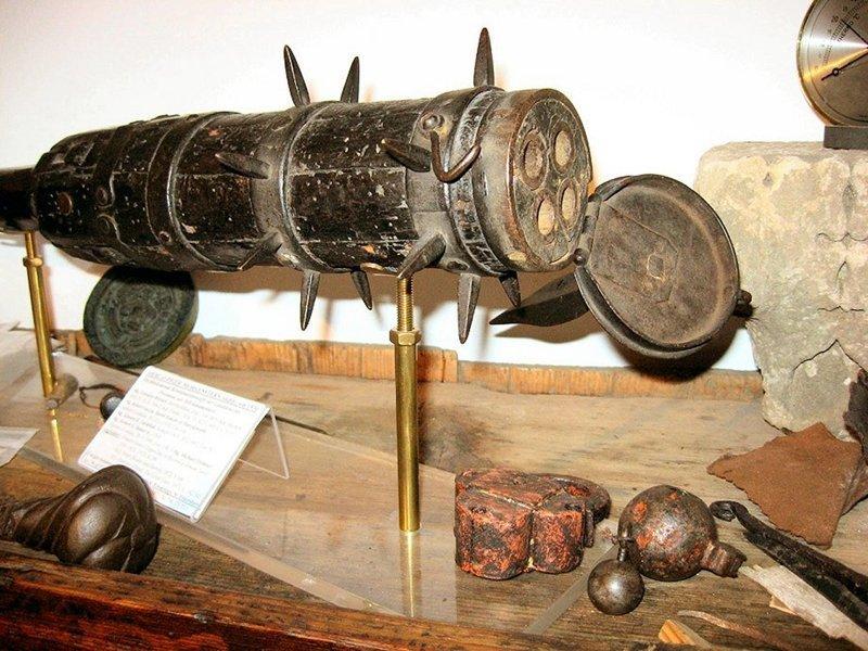 Многоствольная артиллерия, 16 век артиллерия, военное, интересное, история, необычное, пушки