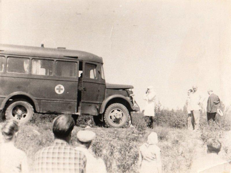 В СССР массово проводились учения по гражданской обороне. СССР, авто, автомобили, олдтаймер, ретро авто, ретро фото, советские автомобили