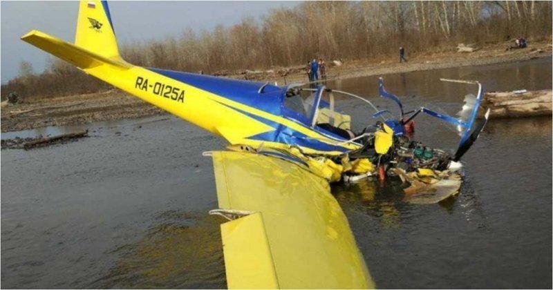 Крушение легкомоторного самолета в Хакасии сняли на видео Хакасия, авиакатастрофа, видео, крушение, падение, самолет