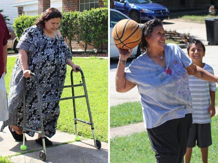 15.奥利维亚克鲁斯从263公斤体重90公斤,前后人,和平,肥胖,减肥,改造,改造