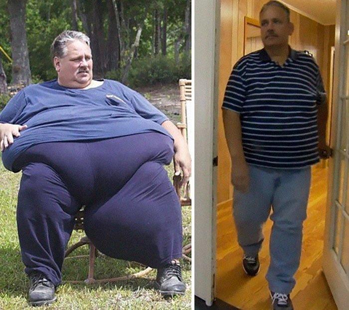 6.查特纳从314公斤到196公斤体重,前后人,和平,肥胖,减肥,改造,改造