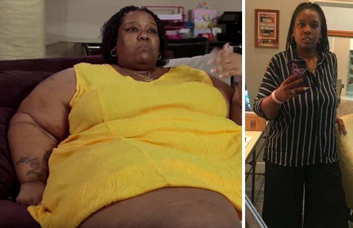 14. 6月McCamey从272公斤到168公斤体重,前后人,和平,肥胖,减肥,改造,改造