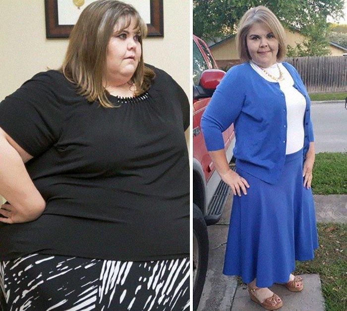 13. Zalinn Witworth从272公斤到136公斤体重,前后人,和平,肥胖,减肥,改造,改造