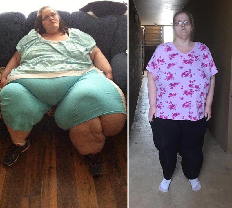 18.慈善皮尔斯从363公斤到136公斤体重,前后人,和平,肥胖,减肥,改造,改造