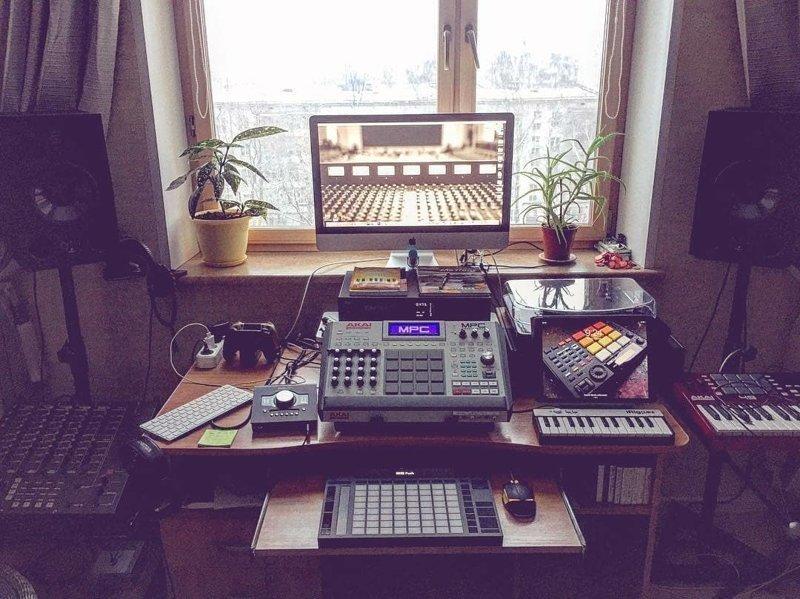 30 фотографий крутых домашних студий, о которых мечтали все начинающие музыканты домашняя студия, звук, музыка, музыкальная студия