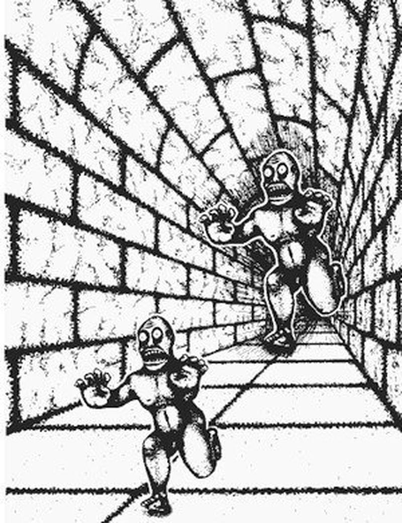 11. Эти монстры одинакового размера! забавно, мозг, обман зрения, оптические иллюзии, прикольно