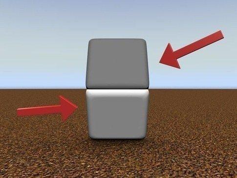 6. Эти квадратики одного цвета. Не веришь? Закрой пальцем линию между ними забавно, мозг, обман зрения, оптические иллюзии, прикольно
