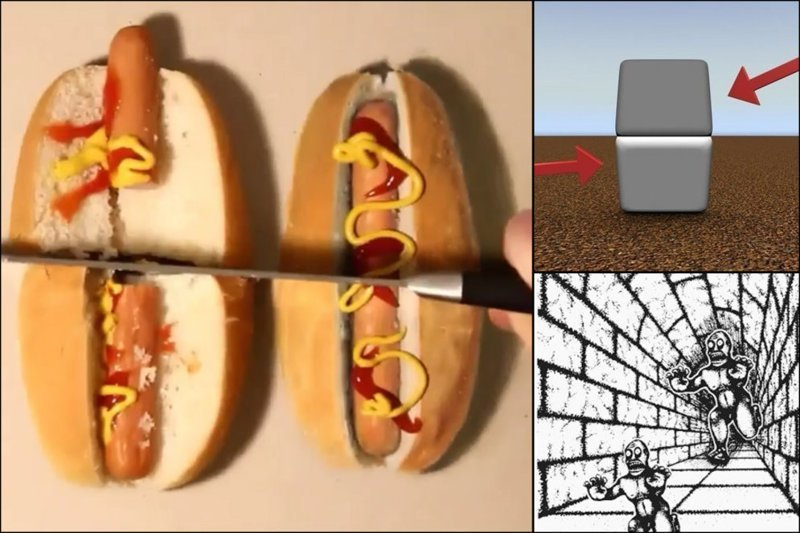 14 оптических иллюзий, которые снова обманут ваш мозг забавно, мозг, обман зрения, оптические иллюзии, прикольно