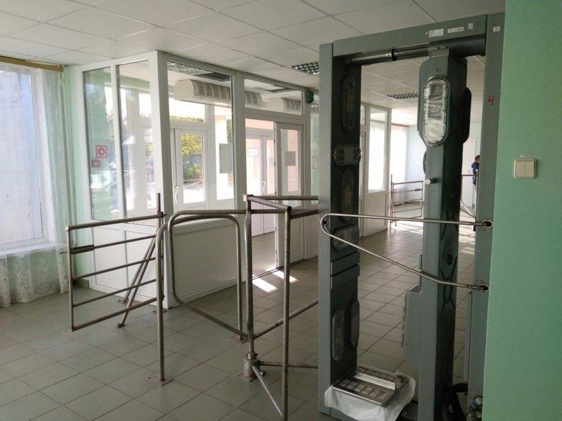 Рамки, проверяющие дозы радиации Припять, Чернобыль, атомная станция, чаэс